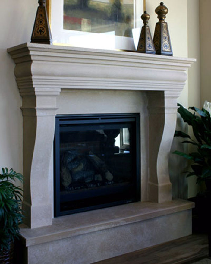 monte carlo fireplace mantel
