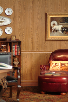 Library Panels Wood Paneling American Pacific