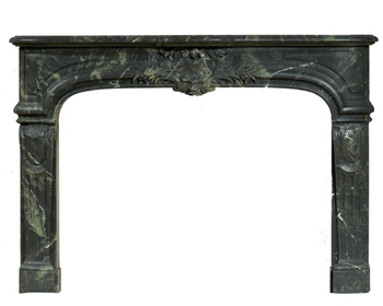Fontaine Green Marble Mantel