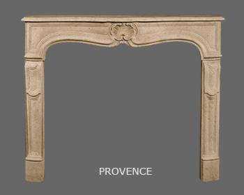 French Louis XV Marble Mantel