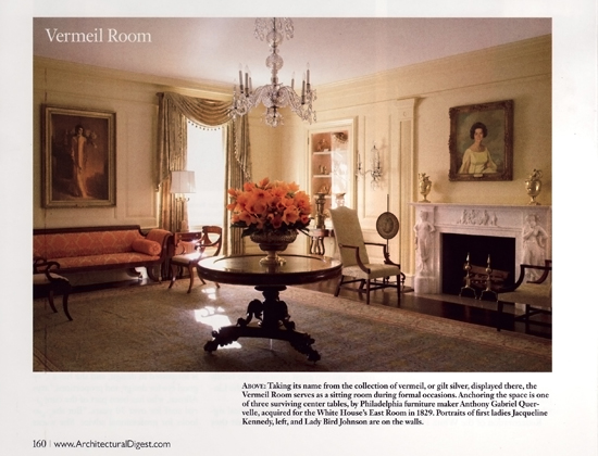 Purchase the same Mantel that the White House features in Architectural Digest F