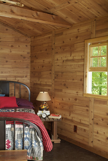 Western Red Cedar Modeled After The Clic Homesteads Of Past This Textured Wood Paneling Brings A Sense Outdoors To Any E