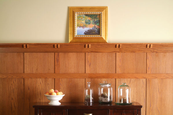 Mission Style Paneling : Wood paneling designer american pacific