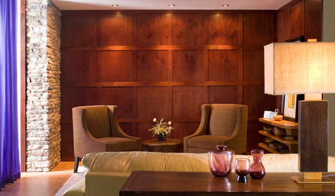 ... Wood Wall Paneling Systems. Modern Mahogany contemporary mahogany